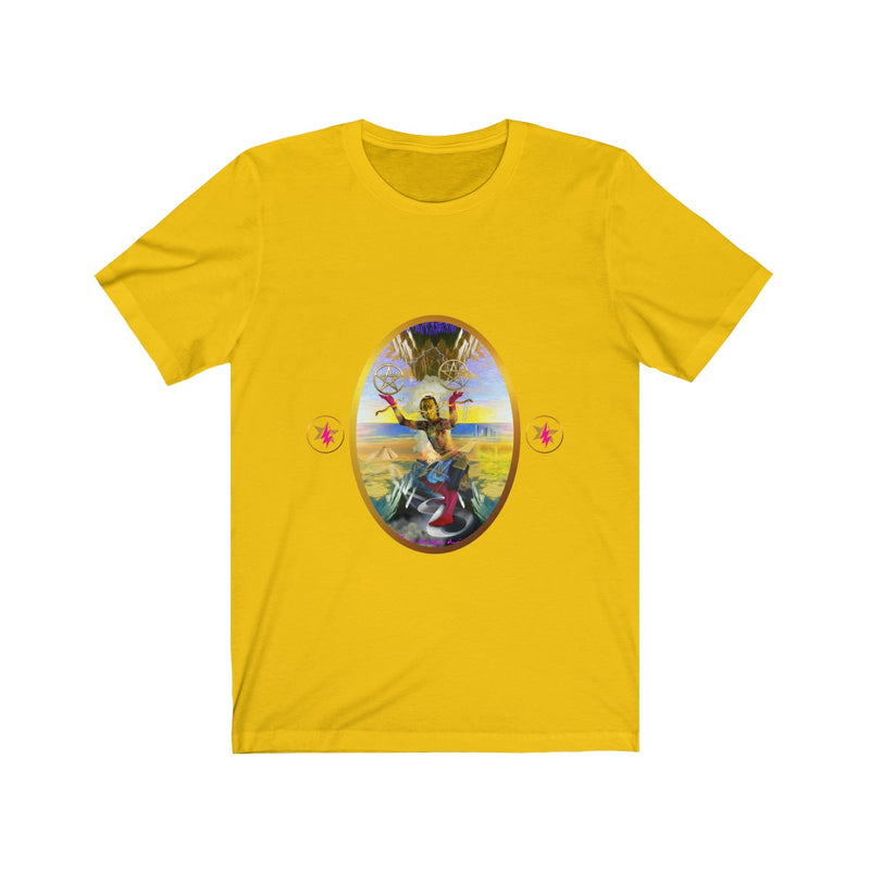 STARMAN - TWO OF PENTACLES - Jersey Short Sleeve T-Shirt