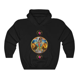 STARWOMAN - STRENGTH - Heavy Blend™ Hooded Sweatshirt