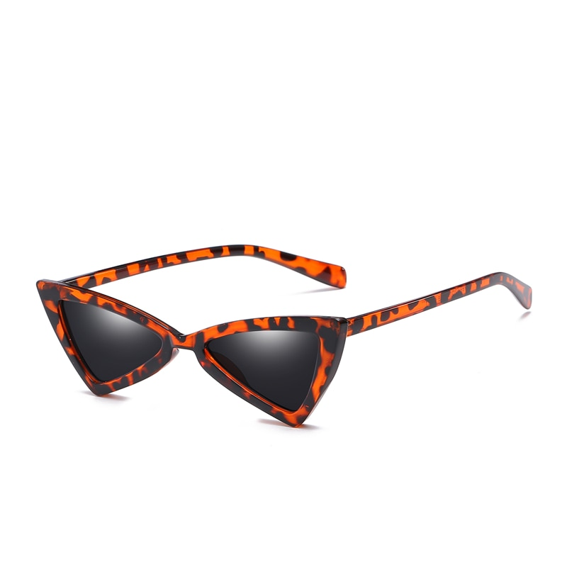Triangle Vintage Cat Eye Sunglasses