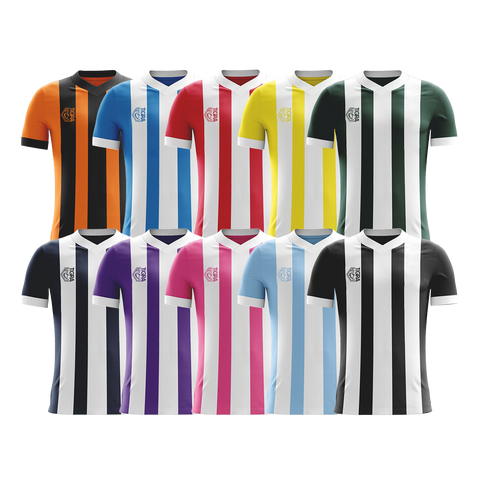 Tigra Challenger Football Stripe Shirt