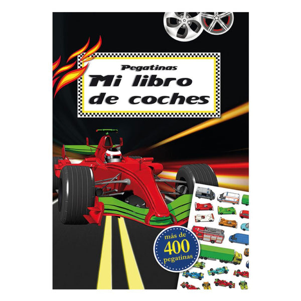MI LIBRO DE COCHES STICKERS