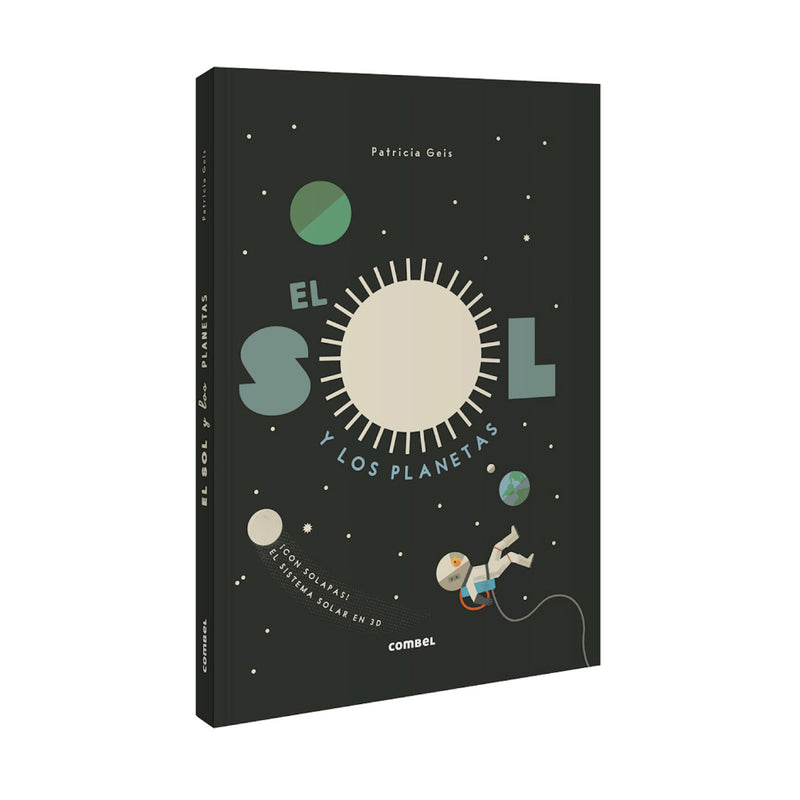El sol y los planetas. Pop-up
