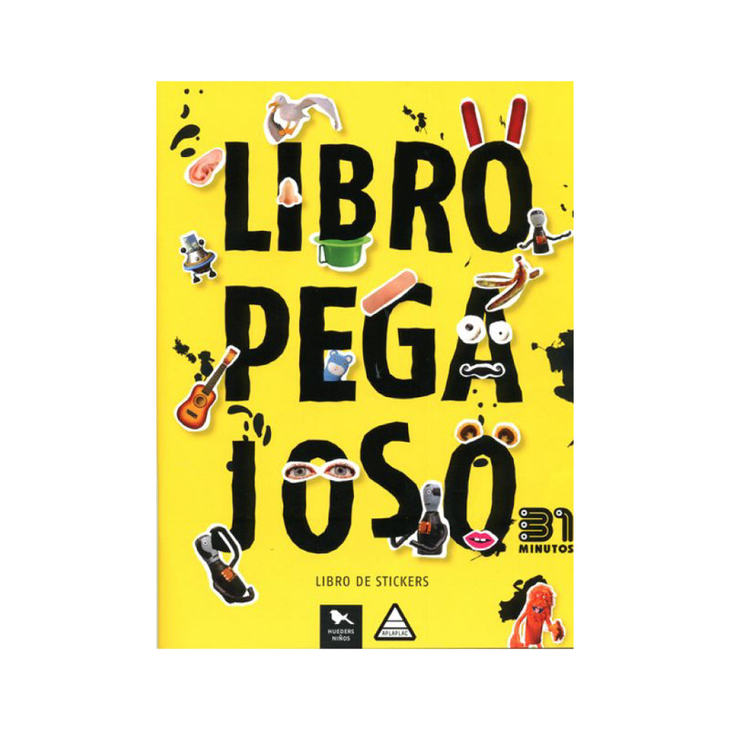 Libro pegajoso 31 minutos. Stickers