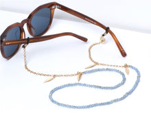 Load image into Gallery viewer, Sunny Cords - Bead It Sunglasses Chain - Light Blue