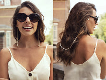 Load image into Gallery viewer, Sunny Cords - Bead It Pearl Sunglasses Chain - White
