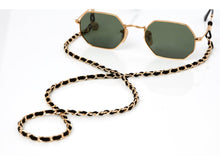 Load image into Gallery viewer, Sunny Cords - Classy C Sunglasses Chain - Black