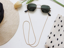 Load image into Gallery viewer, Sunny Cords - Delicate Snake Sunglasses Chain - Gold
