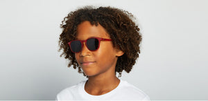 Izipizi Sun Junior E Sunglasses - Red