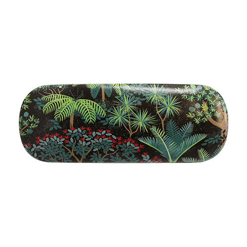 Kiwiana Glasses Case with Cloth - Evergreen