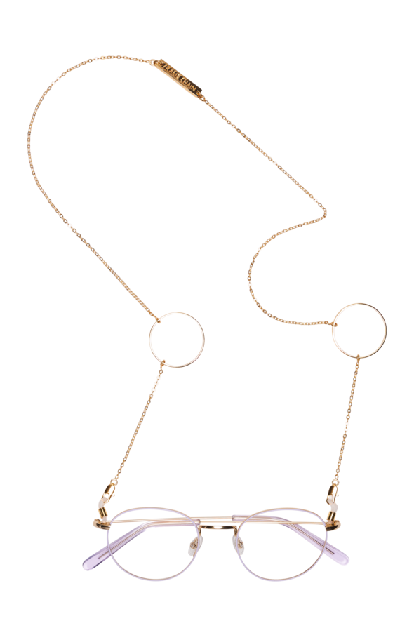Frame Chain -  Loop de Loop Sunglasses Chain  - Yellow Gold