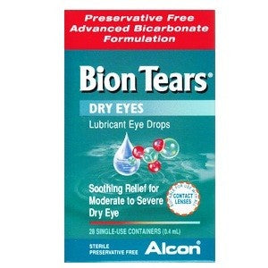 Bion Tears Eye Drops