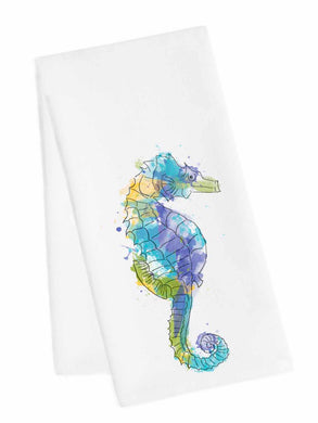 Coastal Tea Towel<br>Sea Horse