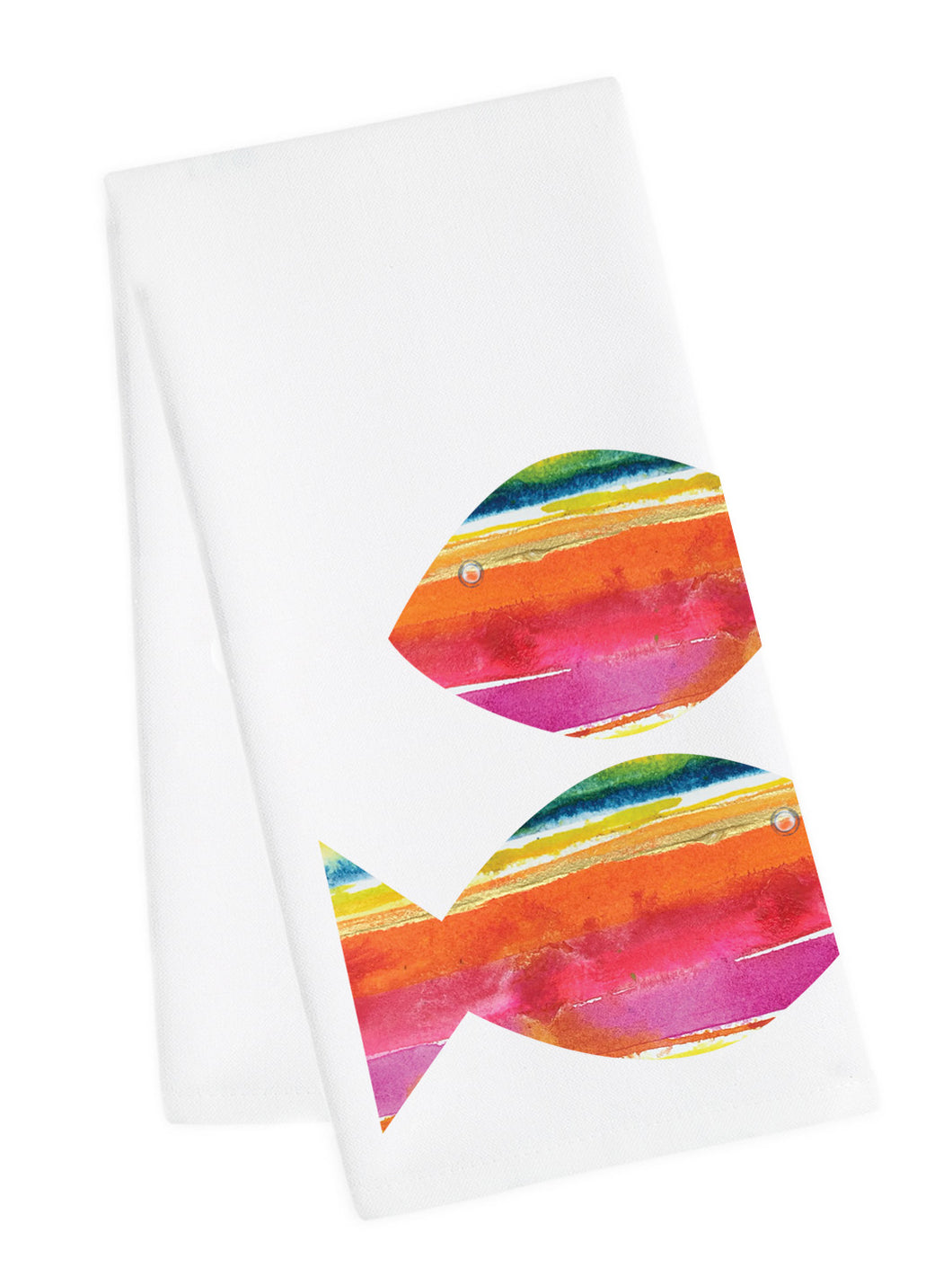 Coastal Tea Towel<br> Rainbow Redfish