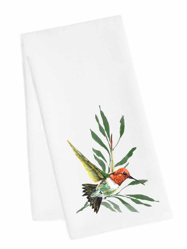 Bird Tea Towel<br>Ruby Throated Hummer