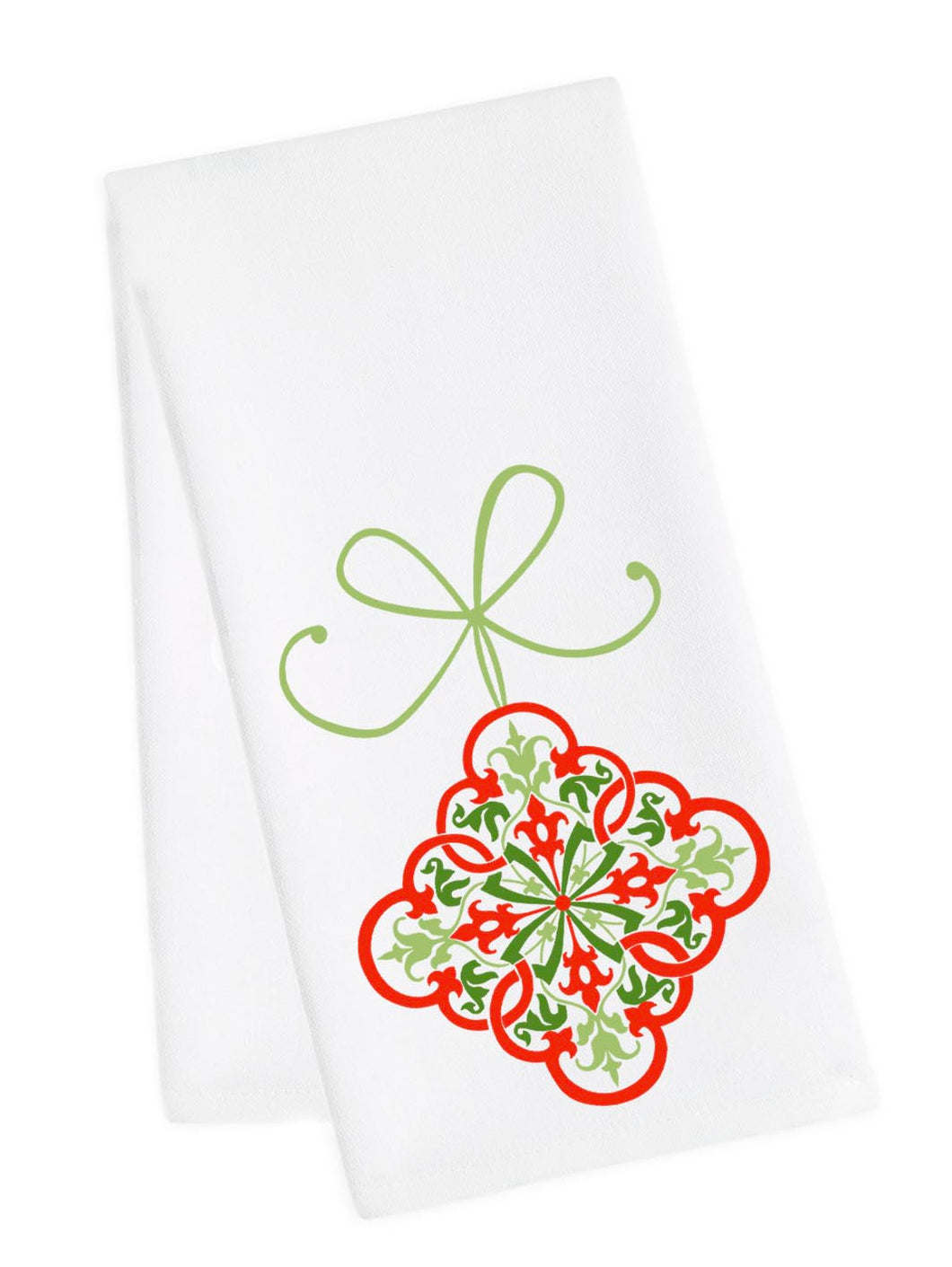 Holiday Dish Towel<br>Ornament 1