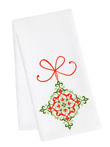 Holiday Dish Towel<br>Ornament 2