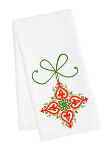Holiday Dish Towel<br>Ornament 3