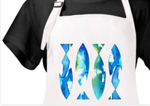 Load image into Gallery viewer, Ocean Fish Apron