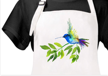 Load image into Gallery viewer, Hummingbird Apron