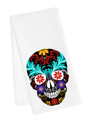 Sugar Skull Tea Towel 1