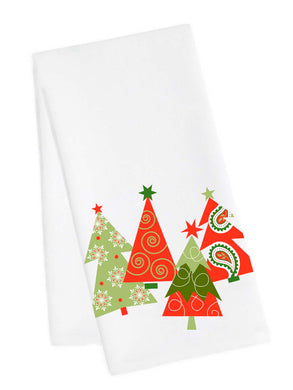 Holiday 4 Trees Tea towels