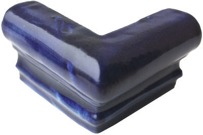 Cobalt Blue Chair Rail Molding