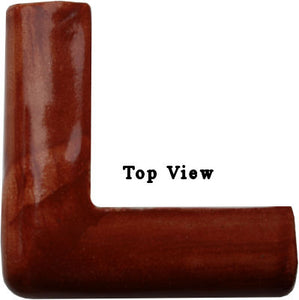 Terracota Chair Rail Corner Molding 3 Inch