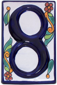 Colonial Tile Numbers