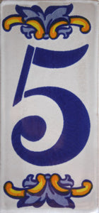 Villa Tile Numbers