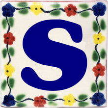 Load image into Gallery viewer, Bouquet Talavera Clay House Letters