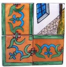 Load image into Gallery viewer, Patzcuaro Talavera Mexican Tile Mural