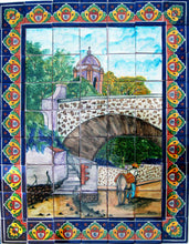 Load image into Gallery viewer, Ped Bridge Talavera Tile Mural