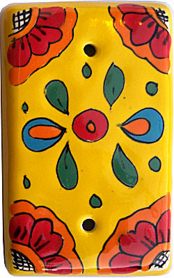 Canary Talavera Cover Switchplate
