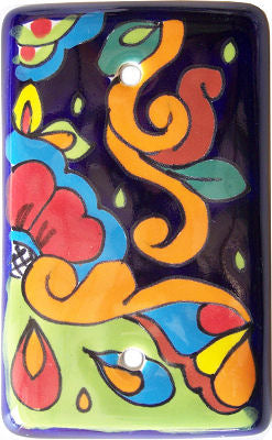 Rainbow Talavera Cover Switchplate