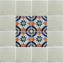 Load image into Gallery viewer, Mexican White Talavera Tile