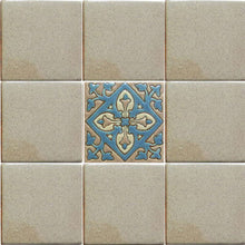 Load image into Gallery viewer, Smoked Verona Alhambra Talavera Tile