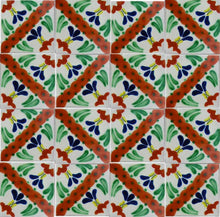 Load image into Gallery viewer, Jazmin Talavera Mexican Tile