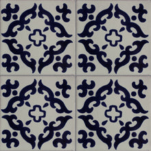 Load image into Gallery viewer, Blue Barroco Talavera Mexican Tile