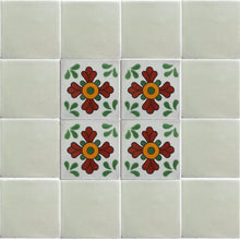 Load image into Gallery viewer, Green Seville Talavera Mexican Tile