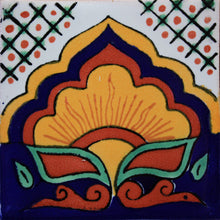 Load image into Gallery viewer, Sunrise Talavera Mexican Tile