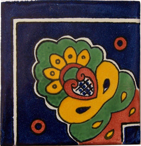 Corner Royal Crown Talavera Mexican Tile