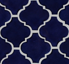 Load image into Gallery viewer, Cobalt Blue Lantern Mexican Tile