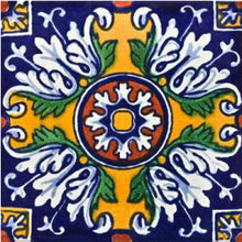 Load image into Gallery viewer, Aldeno Talavera Mexican Tile