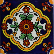 Load image into Gallery viewer, Zarza Talavera Mexican Tile