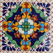 Load image into Gallery viewer, Macotera Talavera Mexican Tile