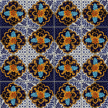 Load image into Gallery viewer, Cajeme Talavera Mexican Tile