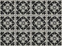 Load image into Gallery viewer, Black Barroco Talavera Mexican Tile