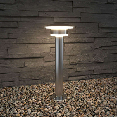009 Post Light Silver 0.47m/0.87m GENEVA