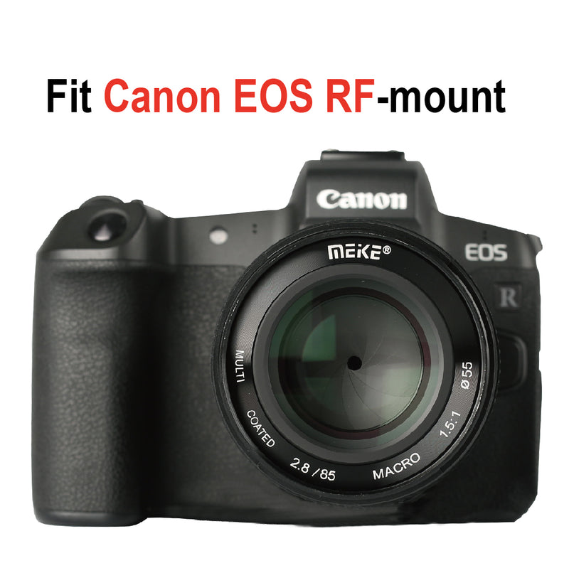Meike MK-85mm F2.8 Canon RF mount Macro Full Frame Lens for Canon RF series Cameras  EOS-R EOS-RP-Fast Delivery