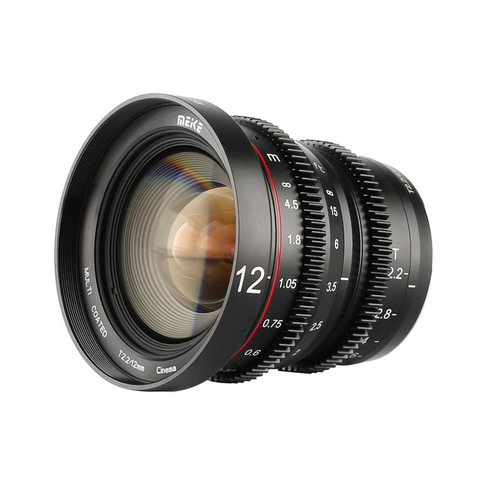 Meike T2.2 Series 3* Cine Lens Kit With MIC for MFT-Fast Delivery